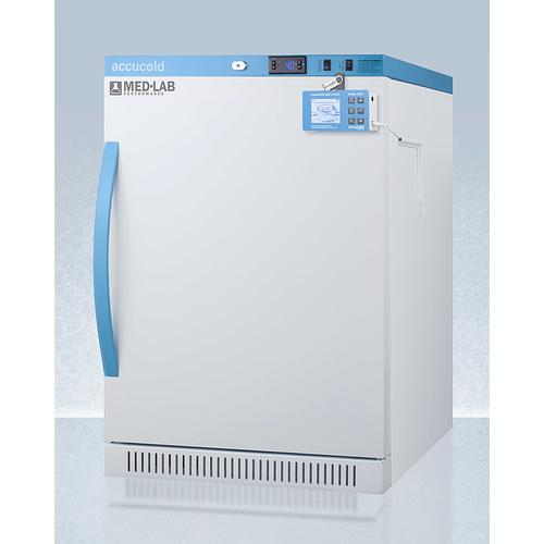 Performance Series Med-lab 6 CU.FT. Freestanding ADA Height All-refrigerator for Laboratory Storage With Factory-installed Data Logger