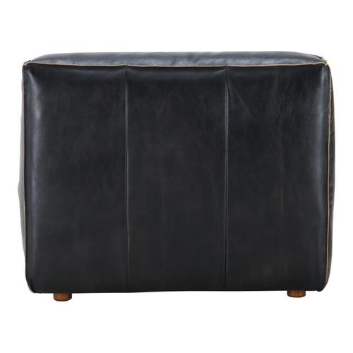 Moe's Home Collection - Luxe Slipper Chair Antique Black