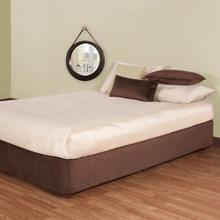 See Details - Twin Boxspring Cover Bella Chocolate (Cover Only)