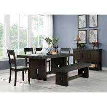 ACME Haddie Dining Table - 72210 - Distressed Walnut
