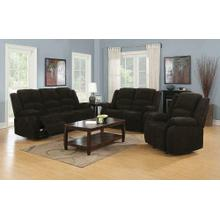 Gordon Chocolate Reclining Three-piece Living Room Collection