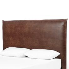 Queen Size Vintage Tobacco Cover Junia Headboard