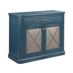 La-Z-BoyHidden Treasures Metal Rivet Door Cabinet