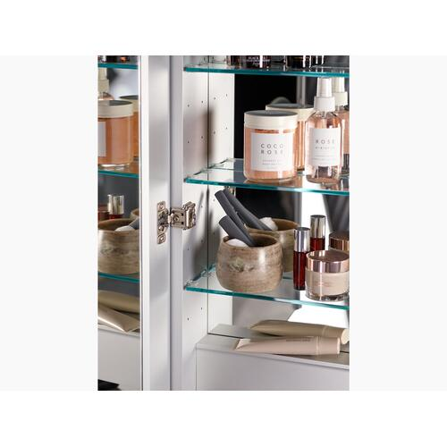 "Lighted Medicine Cabinet, 24"" W X 30"" H"