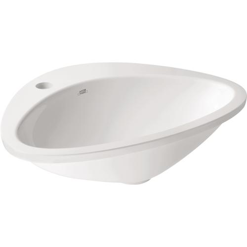 White Drop-In Sink 545/469 with 1 Hole