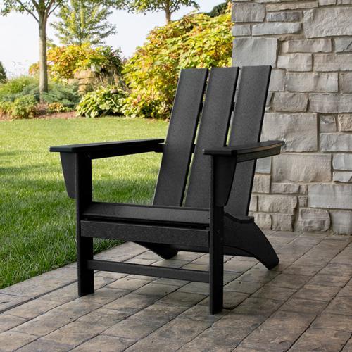Sunset Red Modern Adirondack Chair