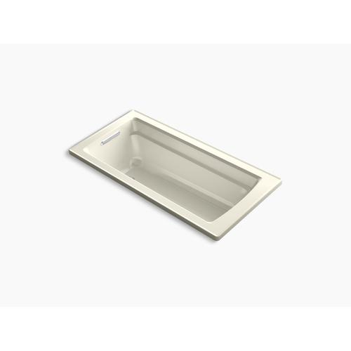 """Biscuit 66"""" X 32"""" Drop-in Bath With Reversible Drain"""
