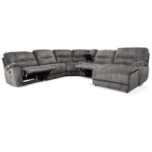 Decor-rest - Charcoal RHF Reclining Chair