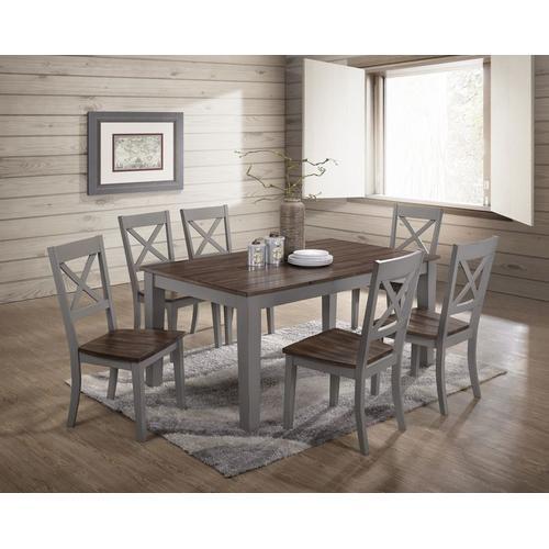 5059-59 RECTANGULAR DINING TABLE - BLACK