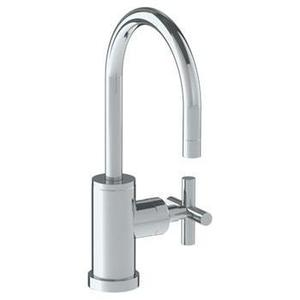 Deck Mounted 1 Hole Gooseneck Bar Faucet Product Image