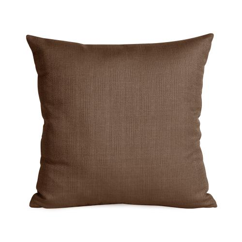 """Pillow Cover 16""""x16"""" Sterling Chocolate"""