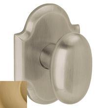 Vintage Brass 5024 Oval Knob