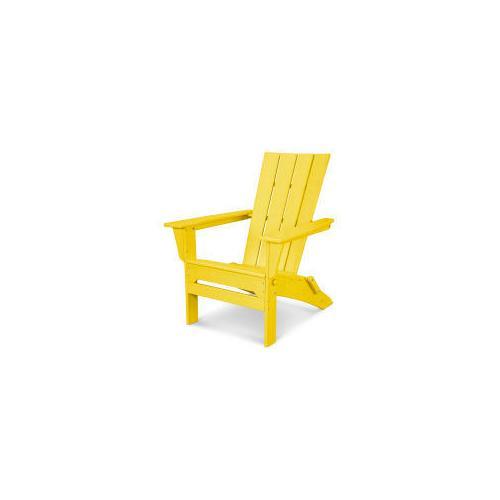 Polywood Furnishings - Quattro Folding Adirondack in Lemon
