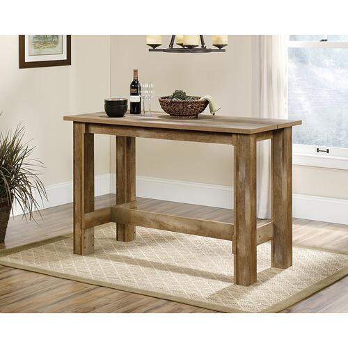 Craftsman-Style Counter-Height Dinette Table