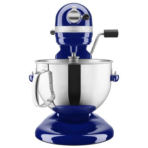 KitchenAid - Pro 600 Series 6 Quart Bowl-Lift Stand Mixer Cobalt Blue