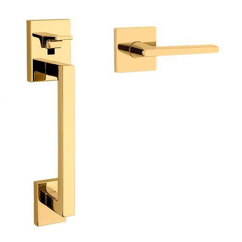 Baldwin - Non-Lacquered Brass Minneapolis Handle Grip Sectional