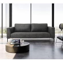 View Product - Divani Casa Jada - Modern Dark Grey Loveseat