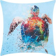 "Outdoor Pillows Ti820 Multicolor 20"" X 20"" Throw Pillow"