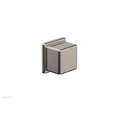 MIX Volume Control/Diverter Trim - Cube Handle 290-38 - Polished Nickel