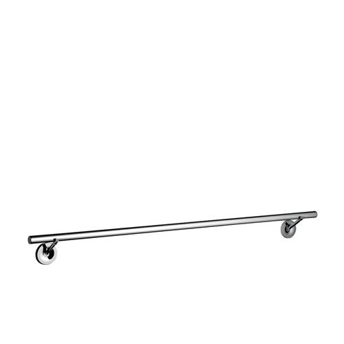 Chrome Bath towel rail 800 mm