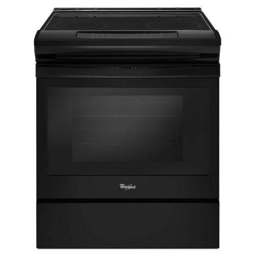 Product Image - 4.8 cu. ft. Guided Electric Front Control Range With The Easy-Wipe Ceramic Glass Cooktop