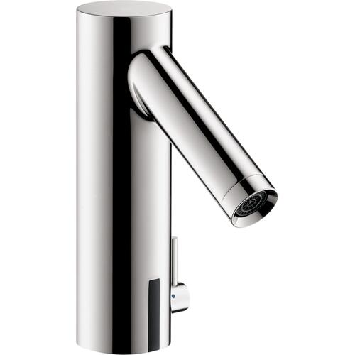 Chrome Electronic Faucet with Temperature Control, 0.5 GPM