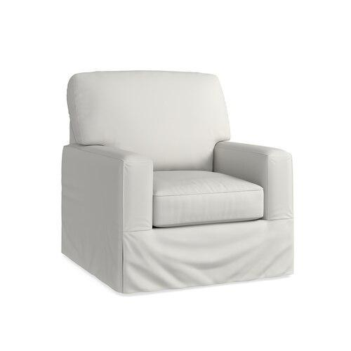 Durham Slipcover Swivel Chair