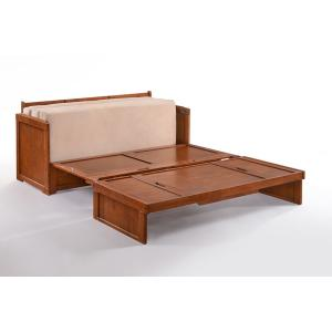Murphy Cube / Murphy Cube 2 * Cabinet Bed in Dark Chocolate Finish