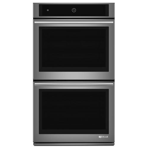 """JennAir - Euro-Style 30"""" Double Wall Oven with MultiMode® Convection System Stainless Steel"""