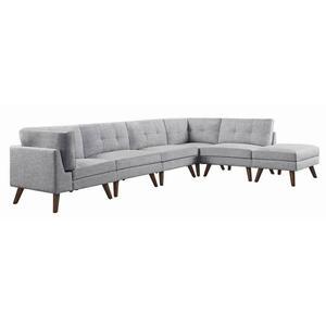 Churchill Modern Grey Corner