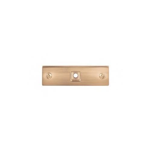 Channing Backplate 3 Inch - Honey Bronze