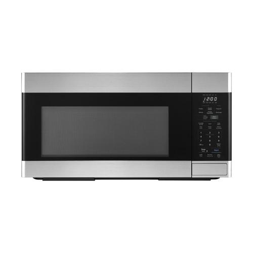 1.8 cu. ft. Stainless Steel 1100W Over-the-Range Microwave Oven