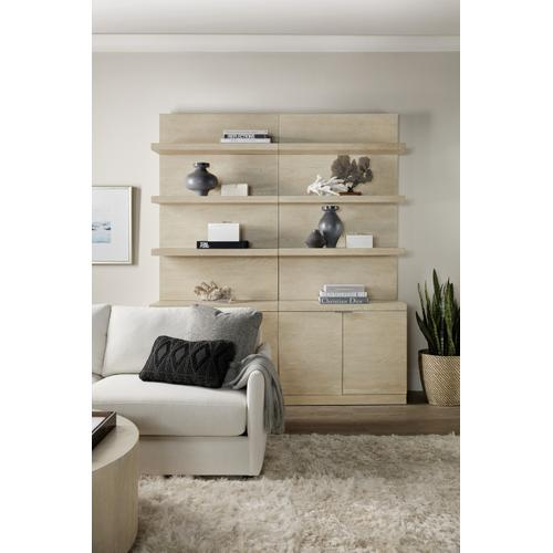 Hooker Furniture - Cascade Bookcase Base and Hutch