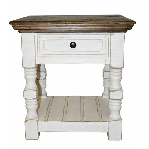 Million Dollar Rustic - Ww Cottage End Table