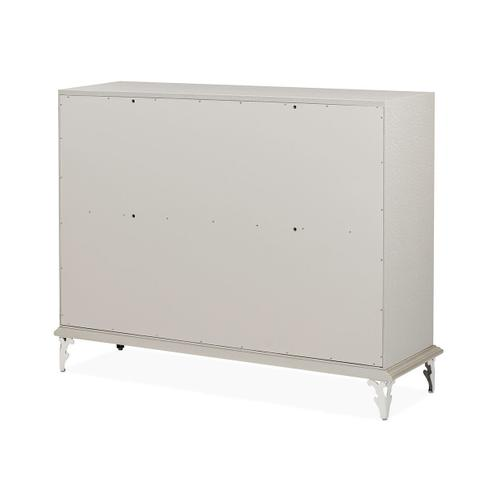 Gallery - Upholstered Storage Console-dresser-sideboard-credenza