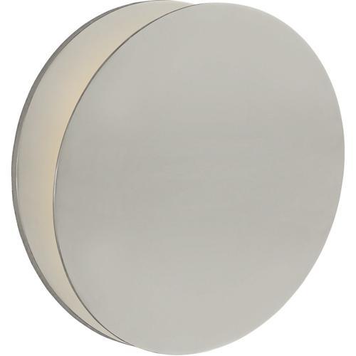 AERIN Gabriela LED 12 inch Polished Nickel Round Wall Washer Wall Light