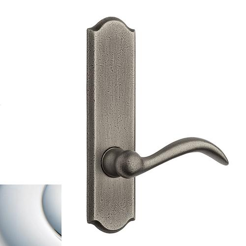 Polished Chrome Rustic L028 Lever Screen Door