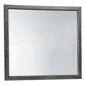 Caitbrook Bedroom Mirror Gray
