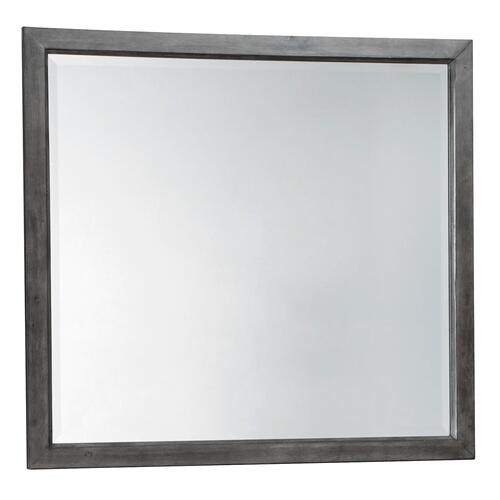 Caitbrook Bedroom Mirror Gray