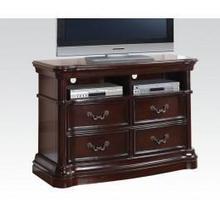 View Product - Dark Cherry TV Console