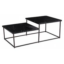 Stanton Coffee Table Black Stone & Antiq
