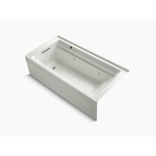 """Dune 72"""" X 36"""" Alcove Whirlpool Bath With Integral Flange, Left-hand Drain and Bask Heated Surface"""