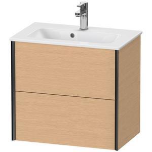 Duravit - Vanity Unit Wall-mounted Compact, Brushed Oak (real Wood Veneer)