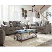Salizar Transitional Grey Two-piece Living Room Set Product Image