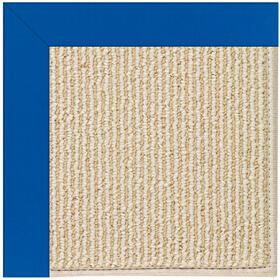Creative Concepts-Beach Sisal Canvas Pacific Blue Machine Tufted Rugs