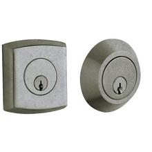 Distressed Antique Nickel Soho Deadbolt