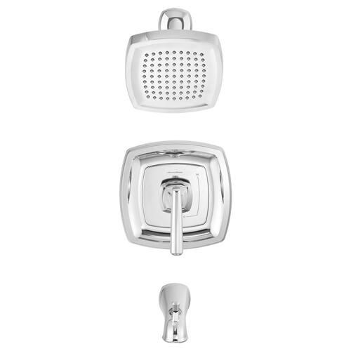 Edgemere Bath/Shower Trim Kit  1.8 GPM  American Standard - Polished Chrome
