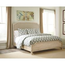Demarlos Queen Panel Footboard Parchment White