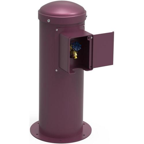 Elkay - Elkay Yard Hydrant with Locking Hose Bib Non-Filtered, Non-Refrigerated Purple