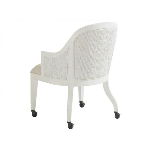 Tommy Bahama - Bayview Arm Chair With Casters